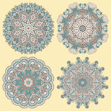 Circunde o ornamento, laço redondo decorativo Imagem de Stock Royalty Free