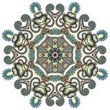 Circunde o ornamento, laço redondo decorativo Foto de Stock