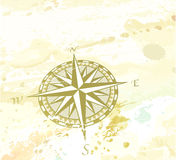 Circunde o windrose Imagem de Stock Royalty Free