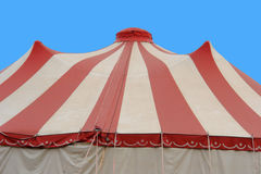 Circus. The big tent of a circus stock photo