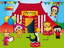 Circus vector illustratie