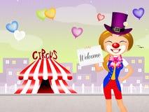 circus royalty illustrazione gratis
