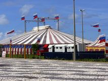 Circus. Have fun in the circus Stock Photography