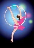 Circus acrobat Stock Image
