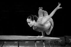 Circus Acrobat Royalty Free Stock Photography