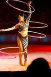Circus acrobatics Royalty Free Stock Photos