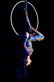 Circus acrobatics Stock Images