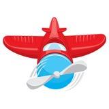 Airplane. Adobe Illustrator eps 8 Royalty Free Stock Photography