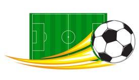Soccer ball. Adobe Illustrator eps 8 Royalty Free Stock Photo