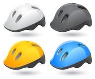 Roller helmet Stock Image