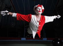 Circus air acrobat Royalty Free Stock Photos