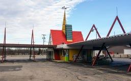 Circus als thema gehade aandrijving in restaurant Stock Afbeeldingen