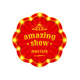 Circus amazing show Royalty Free Stock Image