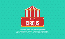Circus and amusement park theme collection. Vector flat royalty free illustration
