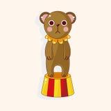 Circus animal theme elements vector,eps Stock Image