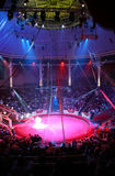 Circus arena. The top view of circus arena Royalty Free Stock Image