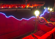 Circus arena interior Royalty Free Stock Photo