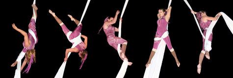 Circus Artists Royalty Free Stock Photos