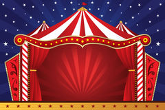 Circus background. A illustration of a circus background