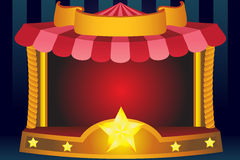 Circus background. A  illustration of a circus background Stock Photo