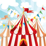 Circus background Stock Images