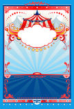 Circus background vector illustration