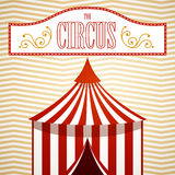 Circus Background. Illustration of a Circus Background Royalty Free Stock Photo