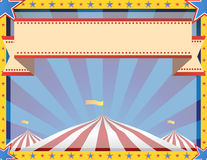 Circus Background Landscape Royalty Free Stock Images