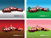 Circus backgrounds Royalty Free Stock Photo