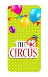 The Circus Banner Vector Illustration Royalty Free Stock Photos