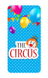 The Circus Banner Vector Illustration Royalty Free Stock Photo