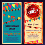 Circus Banners 04 B Stock Photography