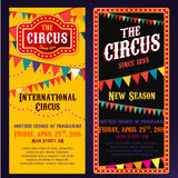 Circus Banners Royalty Free Stock Photos