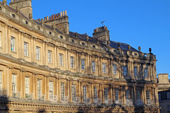 The  Circus, Bath, England. The Circus is an example of Georgian architecture in the city of Bath, Somerset, England Stock Photography