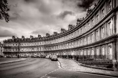 The Circus in Bath, Somerset, UK royalty free stock images