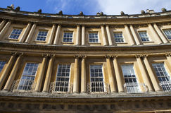 The Circus in Bath Stock Photography