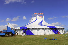 Circus big top tent 1 Stock Image