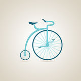 Circus bike. Illustration. Circus bike. Circus and bike. Illustration Royalty Free Stock Photography