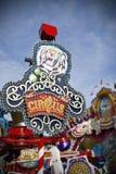 Circus. Billboard in Germany during Oktoberfest Stock Photos