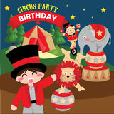 CIrcus birthday Royalty Free Stock Photos
