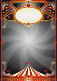 Circus black background Stock Photo