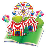 Circus book Stock Photography