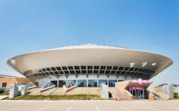 Circus building in Astana Stock Images