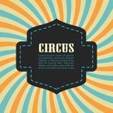 Circus bursting background. Vector illustration stock illustration
