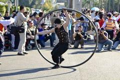 Circus carnival dancer Royalty Free Stock Photos