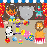 Circus Carnival Elements Stock Photo