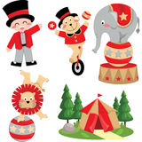 Circus Carnival. A circus carnival with lots of animal Royalty Free Stock Photo