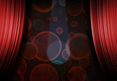 Circus or Carnival Stage Stock Image