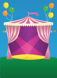 Circus Carnival Tent Royalty Free Stock Photos
