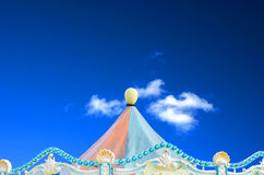 Circus, carnival tent Royalty Free Stock Photo
